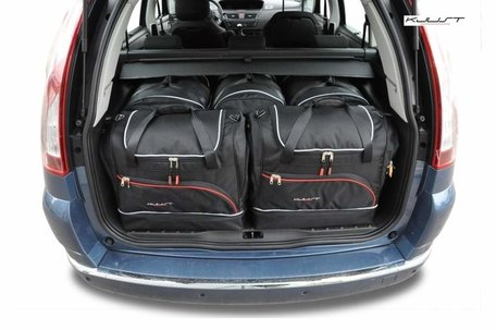 Citroën C4 Grand Picasso van 2004 tot 2010   5 auto tassen   Kjust reistassen