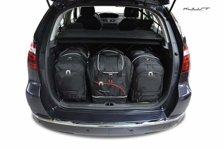 Citroën C4 Picasso van 2004 tot 2010 | 4 auto tassen | Kjust reistassen