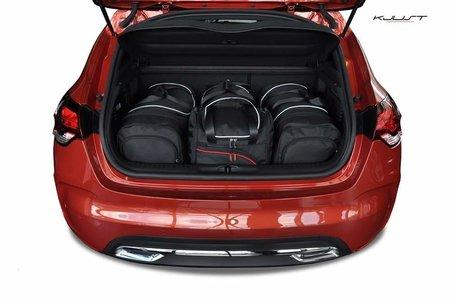 Citroën DS4 vanaf 2011 | 4 auto tassen | Kjust reistassen