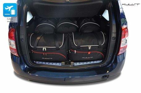 Dacia Duster vanaf bouwjaar 2010 - KJUST reistassen set 5 PCS