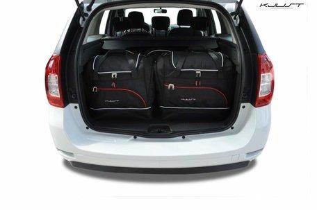 Dacia Logan MCV vanaf 2012 | 5 auto tassen | Kjust reistassen