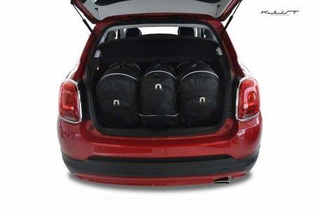 Fiat 500X vanaf 2014 | 3 auto tassen | Kjust reistassen
