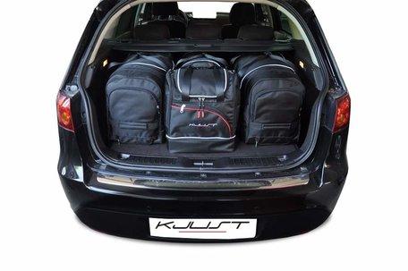 Fiat Croma van 2005 tot 2010 | 4 auto tassen | Kjust reistassen