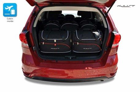 Fiat Freemont vanaf 2011 | 5 auto tassen | Kjust reistassen