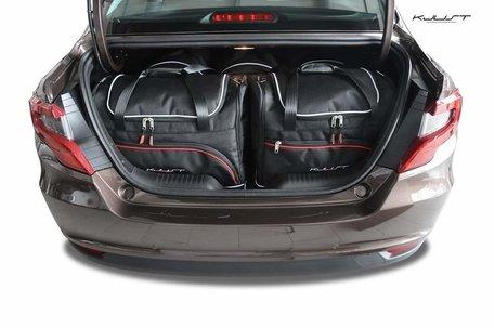 Fiat Tipo Sedan vanaf 2015 | 5 auto tassen | Kjust reistassen