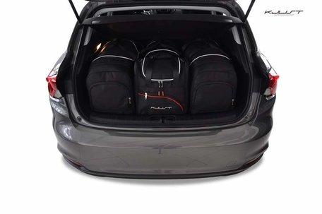 Fiat Tipo Hatchback vanaf 2017 | 4 auto tassen | Kjust reistassen