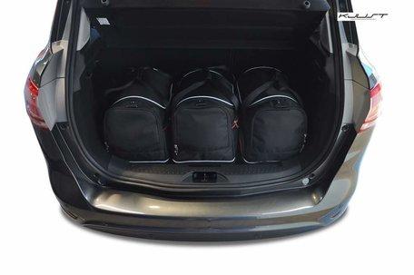 Ford B-Max vanaf 2012   3 auto tassen   Kjust reistassen
