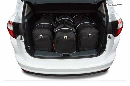 Ford C-Max vanaf 2010 | 4 auto tassen | Kjust reistassen