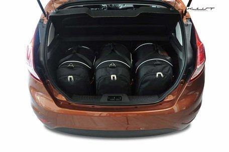 Ford Fiesta vanaf 2008   3 auto tassen   Kjust reistassen