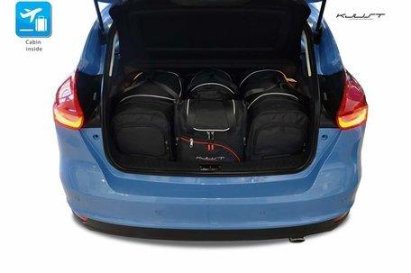 Ford Focus Hatchback vanaf 2011   4 auto tassen   Kjust reistassen