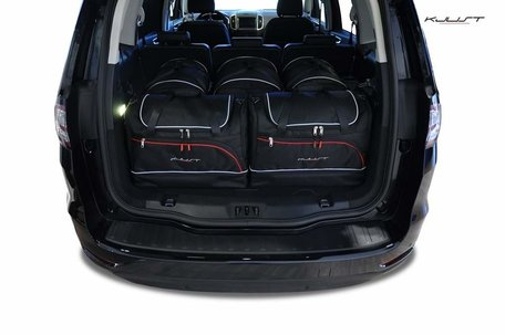 Ford Galaxy vanaf 2015   5 auto tassen   Kjust reistassen