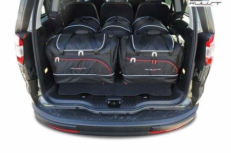 Ford Galaxy III van 2006 tot 2014   5 auto tassen   Kjust reistassen