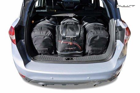 Ford Kuga I van 2008 tot 2012   4 auto tassen   Kjust reistassen