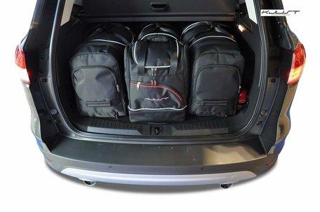 Ford Kuga vanaf 2012   4 auto tassen   Kjust reistassen