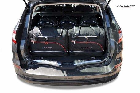 Ford Mondeo Kombi vanaf 2014   5 auto tassen   Kjust reistassen