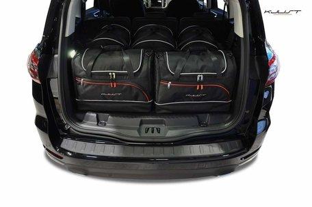 Ford S-Max vanaf 2015 7-zits | 5 auto tassen | Kjust reistassen