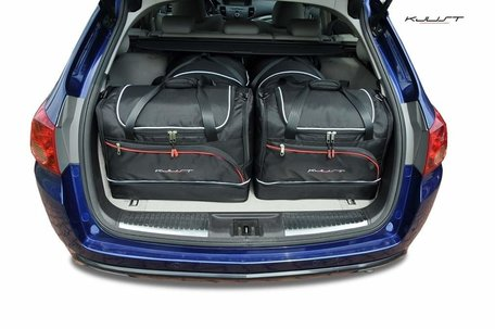 Honda Accord Tourer vanaf 2008 | 4 auto tassen | Kjust reistassen