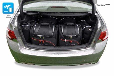 Honda Accord Sedan vanaf 2008 | 6 auto tassen | Kjust reistassen
