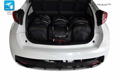 Honda Civic Hatchback vanaf 2012 | 4 autotassen | Kjust reistassen