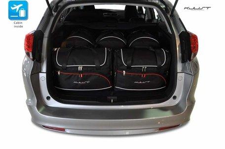 Honda Civic Tourer vanaf 2012 | 6 autotassen | Kjust reistassen