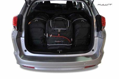 Honda Civic Tourer vanaf 2012 | 4 auto tassen | Kjust reistassen
