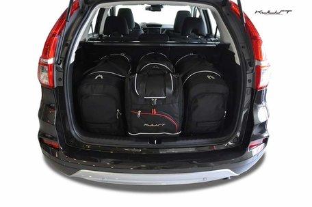 Honda CR-V vanaf 2012 | 4 auto tassen | Kjust reistassen