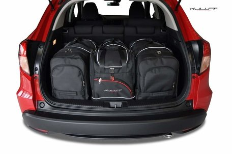 Honda HR-V vanaf 2015 | 4 auto tassen | Kjust reistassen