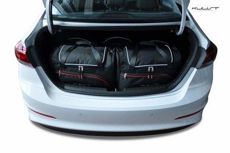 Hyundai Elantra vanaf 2016 | 5 auto tassen | Kjust reistassen