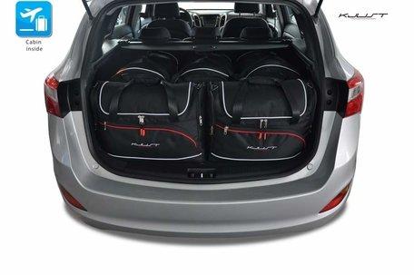Hyundai I30 Wagon vanaf 2012 | 5 auto tassen | Kjust reistassen
