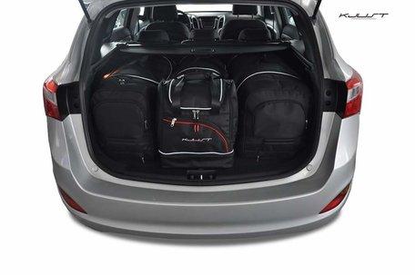 Hyundai I30 Wagon vanaf 2012 | 4 auto tassen | Kjust reistassen
