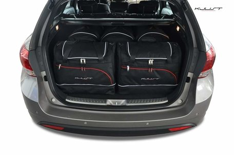 Hyundai I40 Combi vanaf bouwjaar 2011 | 5 auto tassen | Kjust reistassen