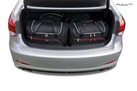 Hyundai I40 Sedan vanaf 2011 | 4 auto tassen | Kjust reistassen