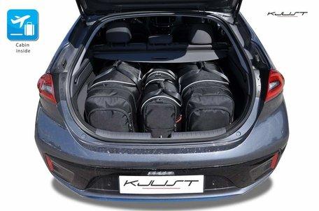 Hyundai Ioniq Electric vanaf 2014 | 4 auto tassen | Kjust reistassen