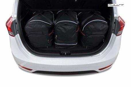 Hyundai IX20 vanaf 2010 | 3 auto tassen | Kjust reistassen