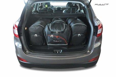 Hyundai IX35 vanaf 2010 | 4 auto tassen | Kjust reistassen