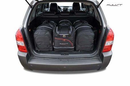 Hyundai Tucson van 2004 tot 2010 | 4 auto tassen | Kjust reistassen