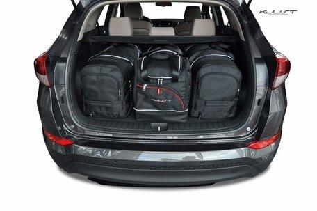 Hyundai Tucson vanaf 2015 | 4 auto tassen | Kjust reistassen