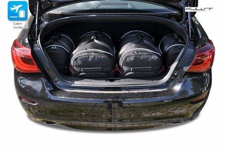 Infiniti Q70 Hybrid vanaf 2013 | 4 autotassen | Kjust reistassen