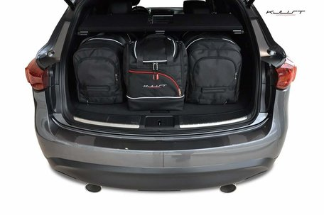 Infiniti QX70 vanaf 2013 | 4 auto tassen | Kjust reistassen