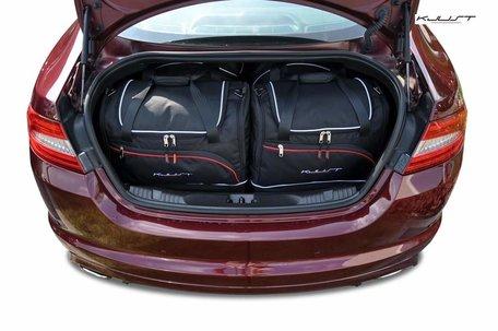 Jaguar XF Sedan van 2008 tot 2015 | 4 autotassen | Kjust reistassen