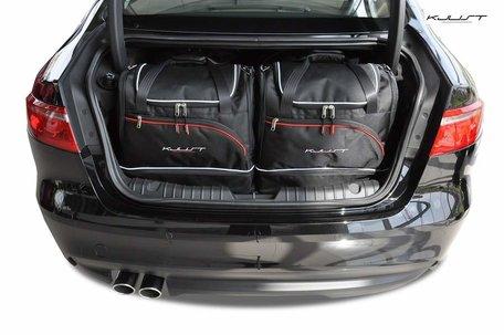 Jaguar XF Sedan vanaf 2015 | 4 auto tassen | Kjust reistassen