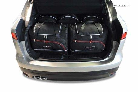 Jaguar F-Pace vanaf 2015 | 5 auto tassen | Kjust reistassen