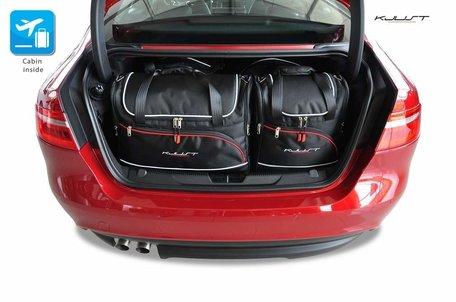 Jaguar XE vanaf 2015 | 4 auto tassen | Kjust reistassen