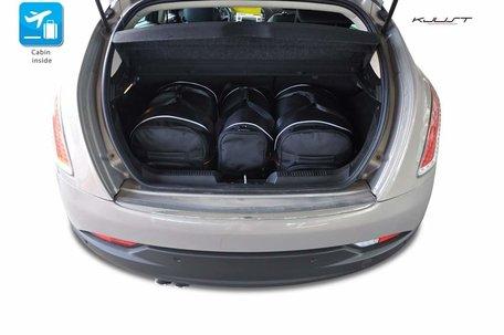 Lancia Delta van 2008 tot 2015 | 4 auto tassen | Kjust reistassen