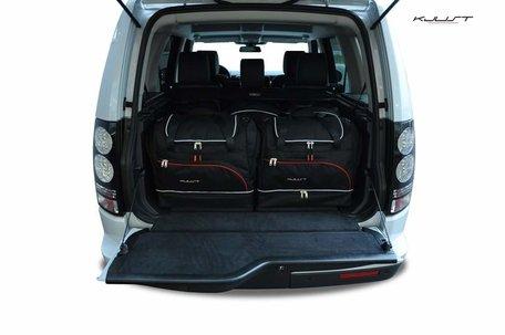Land Rover Discovery vanaf 2010 | 5 auto tassen | Kjust reistassen