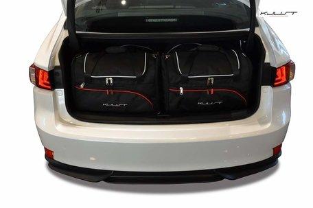 Lexus IS Hybrid vanaf 2013 | 4 auto tassen | Kjust reistassen