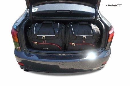 Lexus IS van 2005 tot 2012 | 4 auto tassen | Kjust reistassen