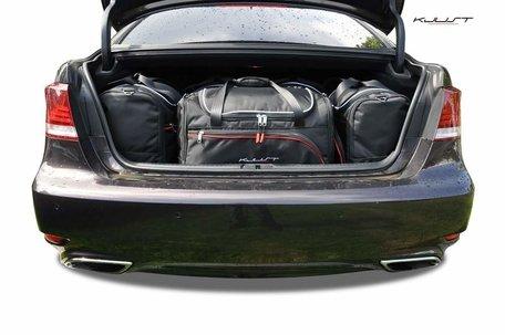 Lexus LS vanaf 2006 | 5 auto tassen | Kjust reistassen
