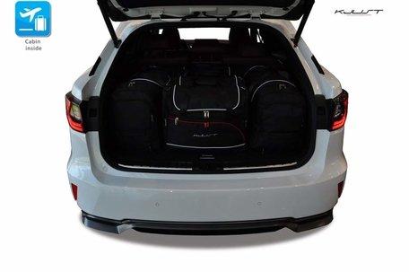 Lexus RX vanaf 2015 | 5 auto tassen | Kjust reistassen