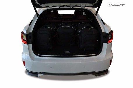 Lexus RX vanaf 2015 | 4 auto tassen | Kjust reistassen